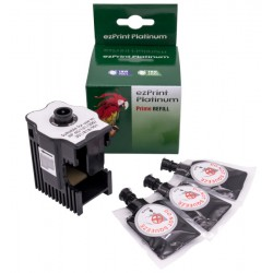 ezPrint Refill-Station HP 21,27,56 + 18ml schwarze Tinte
