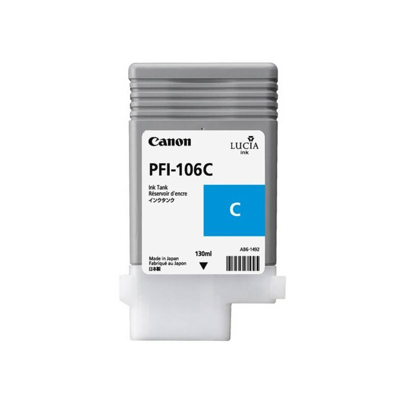 Canon PFI-106C Cyan (CF6622B001AA)