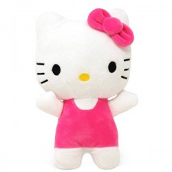 Hello Kitty Plüschfigur rosa