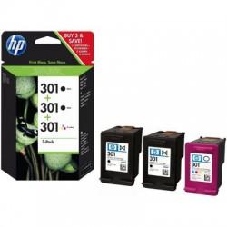 HP 301 Druckkopf mit Tinte 2x schwarz/farbig, 3er-Pack (E5Y87EE)
