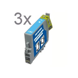 T0805 LC 3er Pack kompatible Patrone