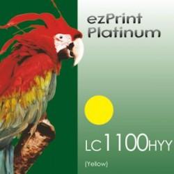 Platinum 1100Y ersetzt LC1100 / LC980 Y kompatible Patrone