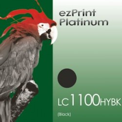 Platinum 1100BK ersetzt LC1100 / LC980 BK kompatible Patrone