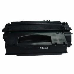 Kompatibler Toner zu HP 55X/Canon CRG-724H schwarz