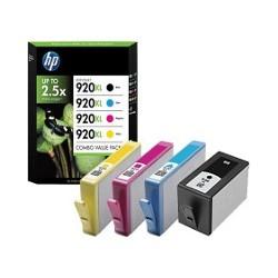 HP Tinte Nr 920 XL Combo Value Pack (C2N92AE)