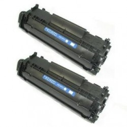 Kompatibler Toner zu HP 85A schwarz hohe Kapazität Doppelpack