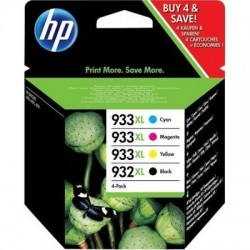 HP Tinten Nr 932XL/933XL Rainbow-Kit (C2P42AE)