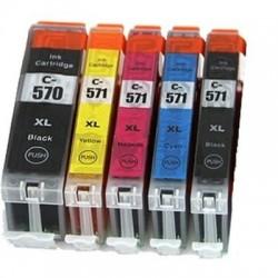 Kompatible Tinte zu Canon CLI-571M XL magenta hohe Kapazität