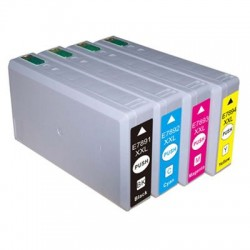 Kompatible Tinte zu Epson 78XXL schwarz T7891