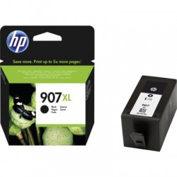 HP 907 XL Tinte schwarz extra hohe Kapazität (T6M19AE)