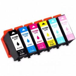 Kompatible Tinte zu Epson 378 XL cyan