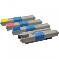 Kompatibler Toner zu OKI 46508711 cyan hohe Kapazität