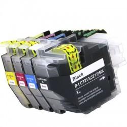 Kompatible Tinte zu Brother LC3219XLBK schwarz