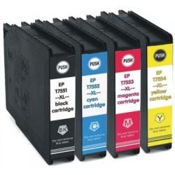 Kompatible Tinte zu Epson T7554 gelb hohe Kapazität