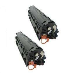Kompatibler Toner zu HP 83A Doppelpack schwarz CF283AD EU REF SPEC kompatibler Toner