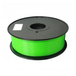 3D filament 1,75 mm PC FLUORES grün 1000g 1kg