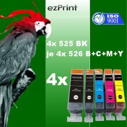 20x Tintenpatrone kompatibel zu Canon PGI525XLBK/CLI526XL C/M/Y mit Chip Multipack
