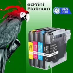 4x Druckerpatronen kompatibel für Brother LC900 XL set Multipack