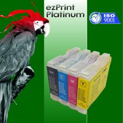 Kompatible Tinte zu Brother LC970/LC1000 Rainbow Kit