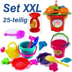 Eimergarnitur Set XXL