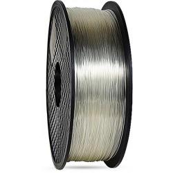 3D filament 1,75 mm TPU+TPE rubber gummi transparent 1000g 1kg