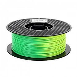 3D Filament 1,75 mm ABS Tempshift grün zu gelb 1000g 1kg