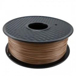 3D filament 1,75 mm Wood+PLA Compound dunkelbraun 800g