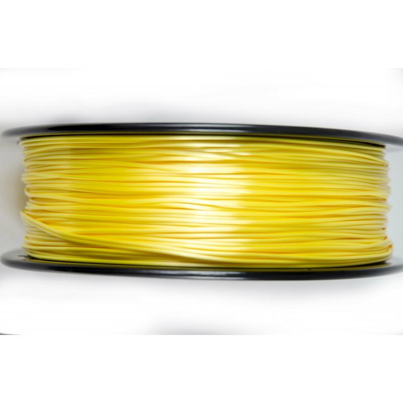 3D Filament 1,75 mm Polymer Silk gelb 1000g 1kg