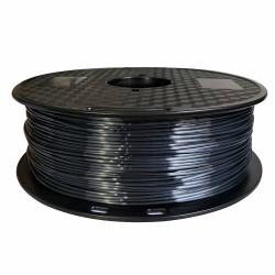 3D Filament 1,75 mm Polymer Silk schwarz 1000g 1kg