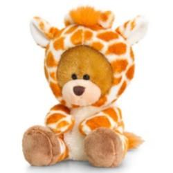 Keel Toys Pipp The Bear als Giraffe verkleidet 14cm Bár