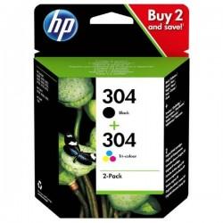 HP Druckkopf mit Tinte 304 Multipack (3JB05AE)