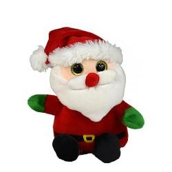 Plüsch Weihnachtsmann Santa Claus 15cm