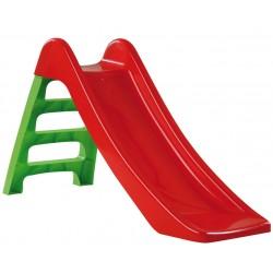Rutsche Kinderrutsche 95cm Rutschbahn rot