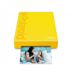 Polaroid Mint ZINK Pocket Printer, gelb (POLMP02Y)