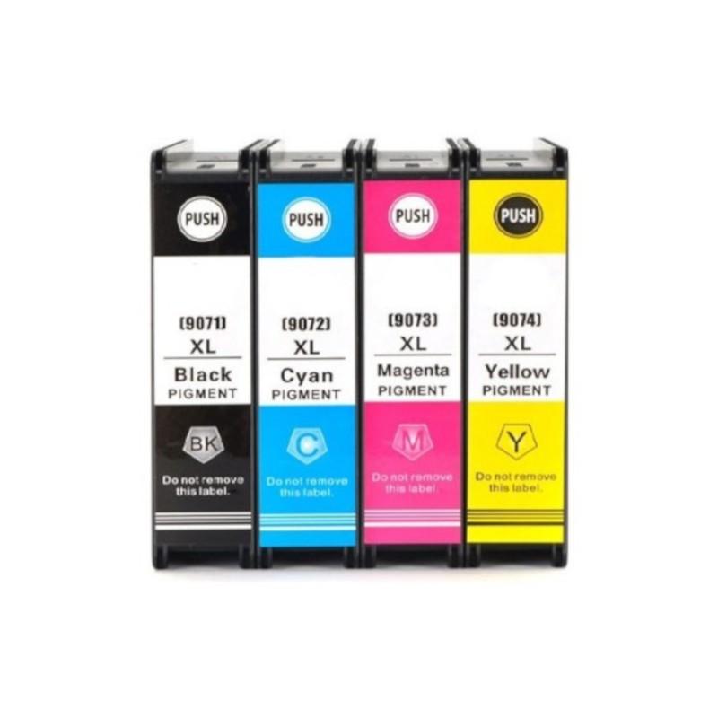 Kompatible Tinte zu Epson T9074 gelb